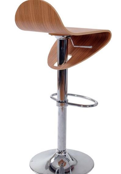 scaune de bar cu sezutul din lemn