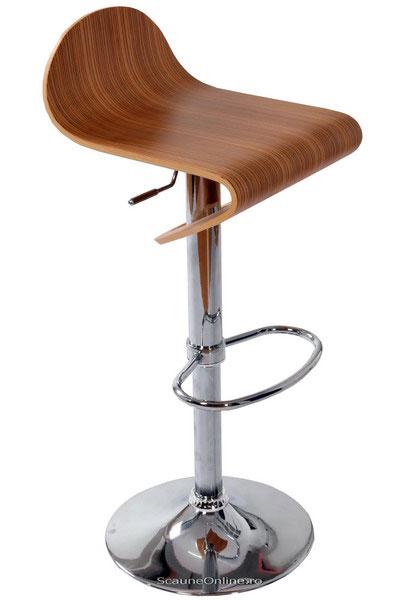 scaune de bar din lemn